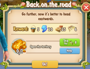 Golden Frontier Back on the Road Quest