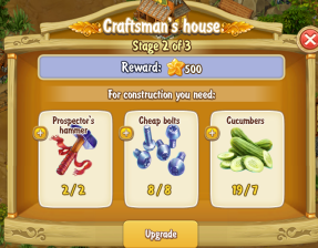 Golden Frontier Craftsman's House Stage 2
