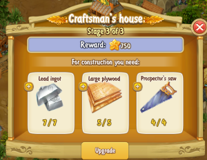 Golden Frontier Craftsman's House Stage 3