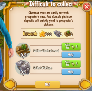 Golden Frontier Difficult to Collect Quest