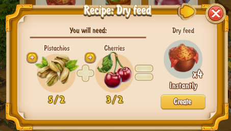 Golden Frontier Dry Feed Recipe (eatery)