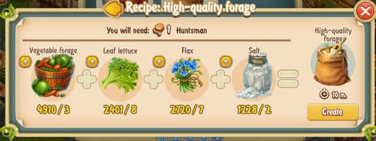 Golden Frontier High Quality Forage Recipe (barn)