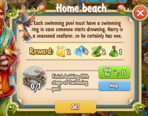 Golden Frontier Home Beach Quest