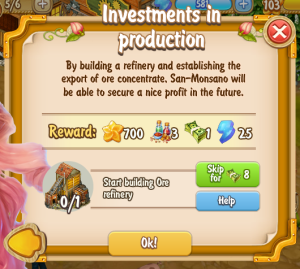 Golden Frontier Investments in Production Quest