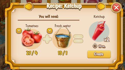 Golden Frontier Ketchup Recipe (eatery)