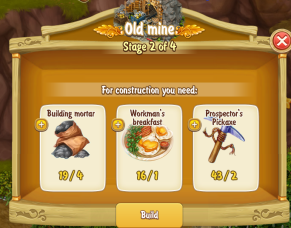 Golden Frontier Old Mine Stage 2