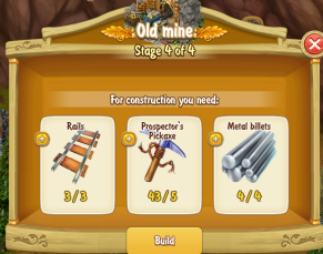 Golden Frontier Old Mine Stage 4