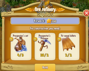 Golden Frontier Ore Refinery Stage 1
