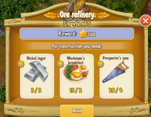 Golden Frontier Ore Refinery Stage 2