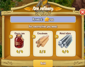 Golden Frontier Ore Refinery Stage 3