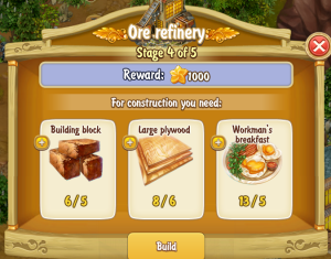 Golden Frontier Ore Refinery Stage 4