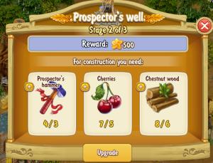 Golden Frontier Prospector's Well Stage 2