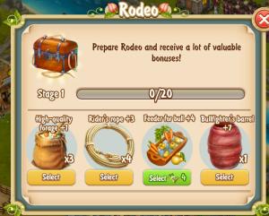Golden Frontier Rodeo Stage 1 Build