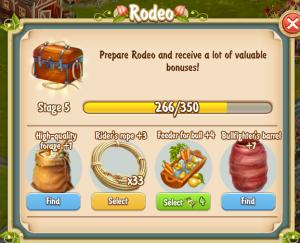 Golden Frontier Rodeo Stage 5