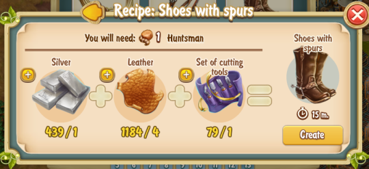 Golden Frontier Shoes with Spurs Recipe (workshop)