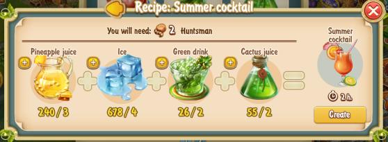 Golden Frontier Summer Cocktail Recipe (summer kitchen)