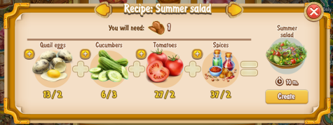Golden Frontier Summer Salad Recipe (eatery)