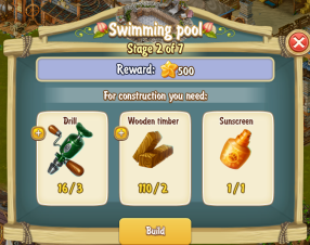 Golden Frontier Swimming pool Stage 2