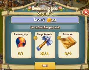 Golden Frontier Swimming Pool Stage 3