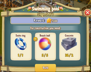 Golden Frontier Swimming Pool stage 5
