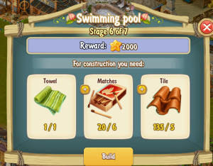 Golden Frontier Swimming Pool Stage 6