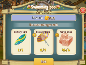 Golden Frontier Swimming Pool Stage 7