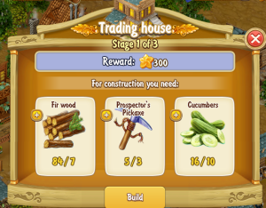 Golden Frontier Trading House Stage 1