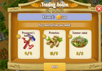 Golden Frontier Trading House Stage 2