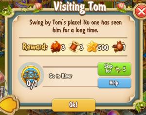 Golden Frontier Visiting Tom Quest
