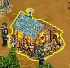 Large Prospector's House
