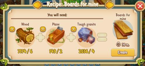 golden-frontier-boards-for-mine-recipe-workshop