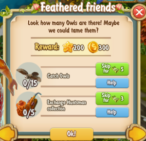 Golden Frontier Feathered Friends Quest
