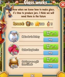 Golden Frontier Glass Works Quest