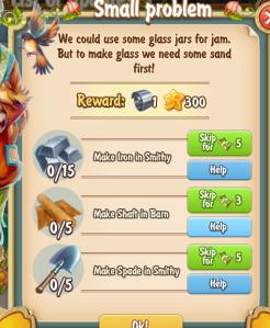 Golden Frontier Small Problem Quest