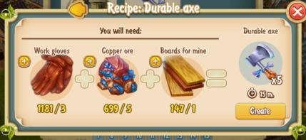 golden-frontier-durable-axe-recipe
