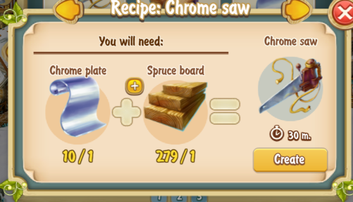 golden-frontier-chrome-saw-recipe-prospectors-store