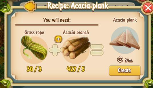 golden-frontier-acacia-plank-recipe-old-textile
