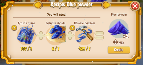 golden-frontier-blue-powder-x2-recipe