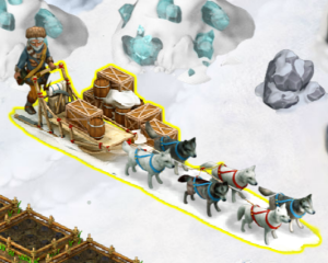 golden-frontier-dogsled