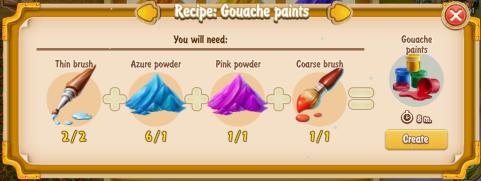 golden-frontier-gouache-paints-recipe