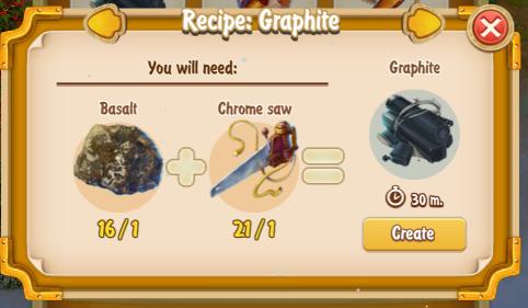 golden-frontier-graphite-recipe