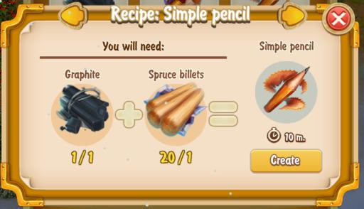 golden-frontier-simple-pencil-recipe