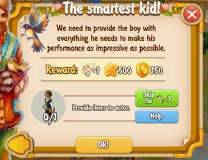 golden-frontier-the-smartest-kid-quest