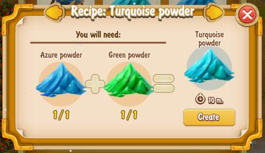 golden-frontier-turquoise-powder-recipe