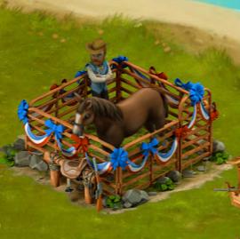 horse-enclosure