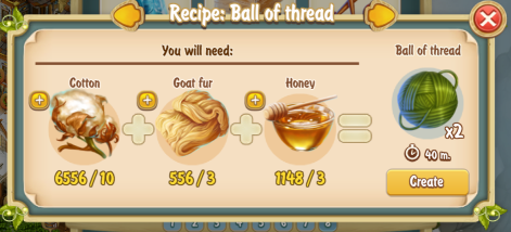 golden-frontier-ball-of-thread-x2-recipe