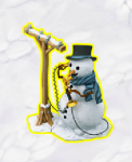 golden-frontier-busy-snowman