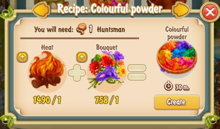 golden-frontier-colourful-powder-recipe-mill