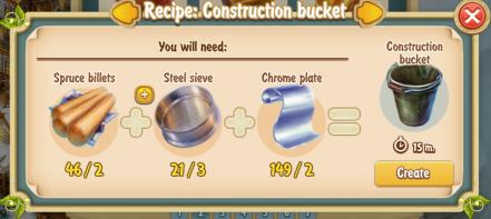 golden-frontier-construction-bucket-recipe-prospectors-store