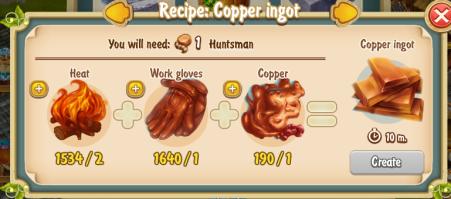 golden-frontier-copper-ingot-recipe